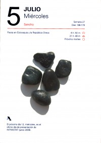 Diario de las piedras JULIO (05)