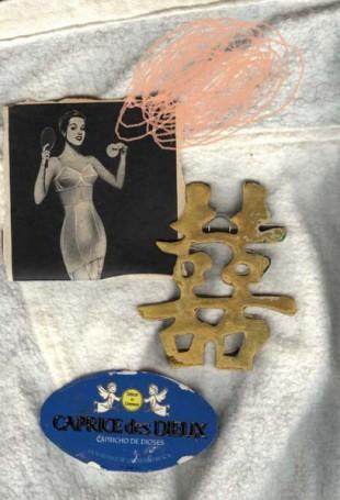 BODEGON CHINO collage digital 70x50cm. cm