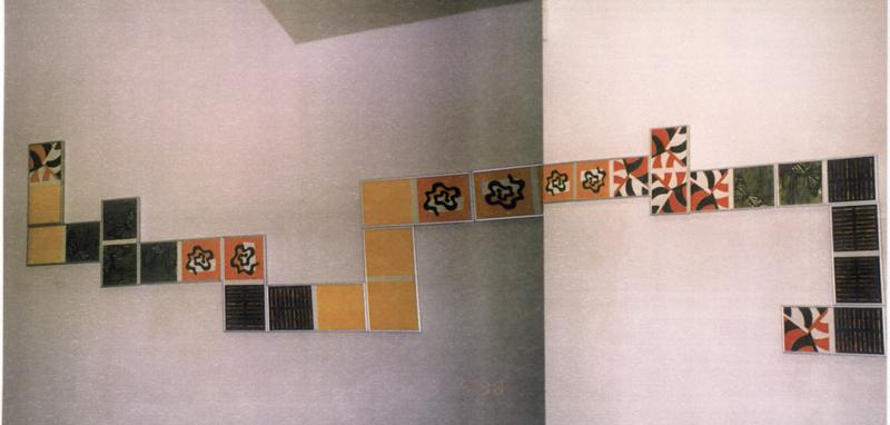 1998 Dominó jugar a ver (Galería Cruce)