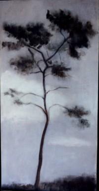 arbolito pintado 2 60x30 oleo-tabla