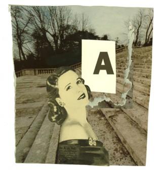 b.n. MUJER A.fotomontaje digital din A3