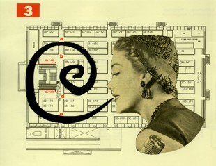 b.n.MUJER ESPIRAL fotomontaje digital din A3