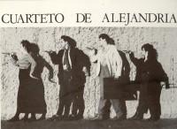 EL CUARTETO DE ALEJANDRIA invitación