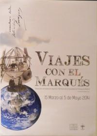 Viajes con el Marqués – Museo Cerralbo (Cartel)