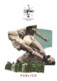 """Proyecto de la Soc. del Collage para """"Se Alquila Público"""": etiquetas-collage en botellas de vino"""