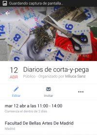 2016 Taller Diarios de Corta y Pega