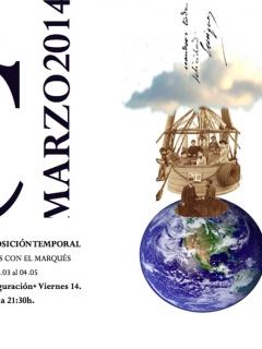 Cartel Viajes con el Marqués